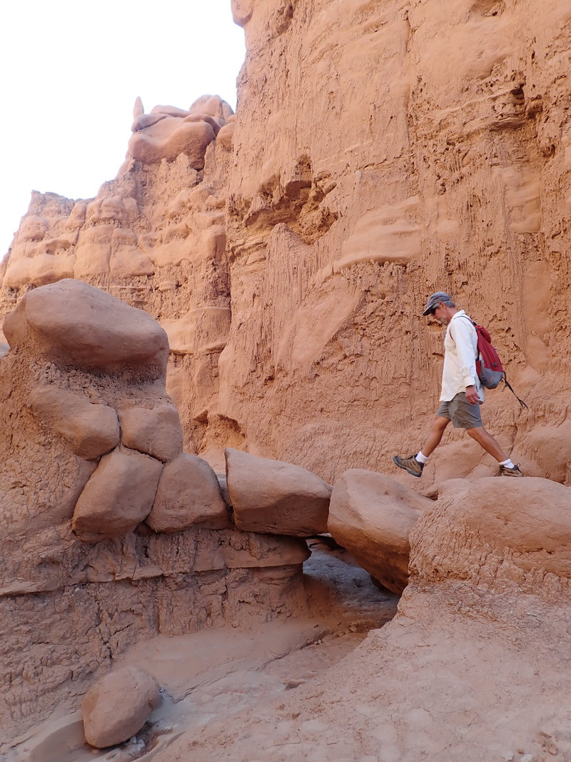 Walking Goblin Valley State Park