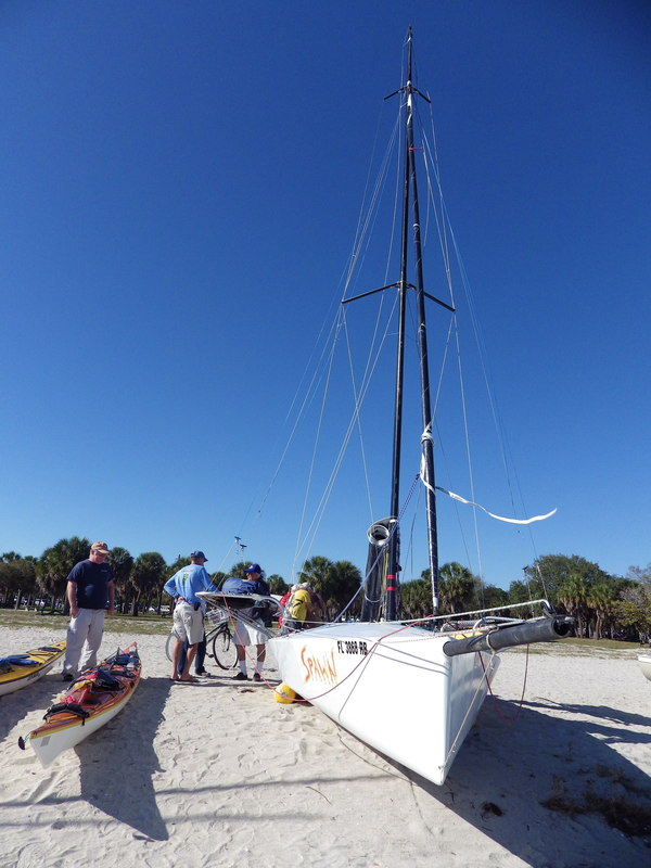 Everglades Challenge on the beach
