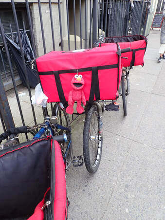 Elmo Bike Delivery NYC